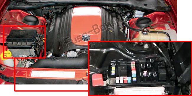 Dodge Charger (2006-2010) \u003c Fuse Box diagram