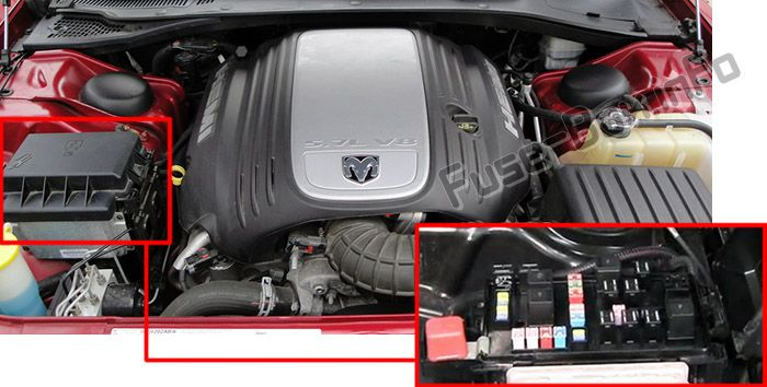 Dodge Magnum (2005-2008) \u003c Fuse Box diagram