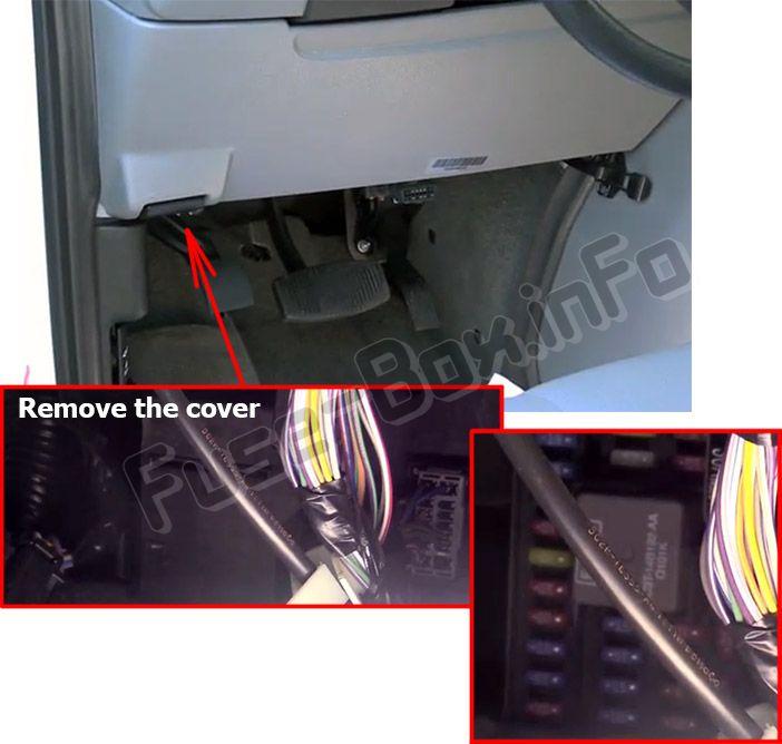 Ford E-Series (2015-2018) \u003c Fuse Box diagram