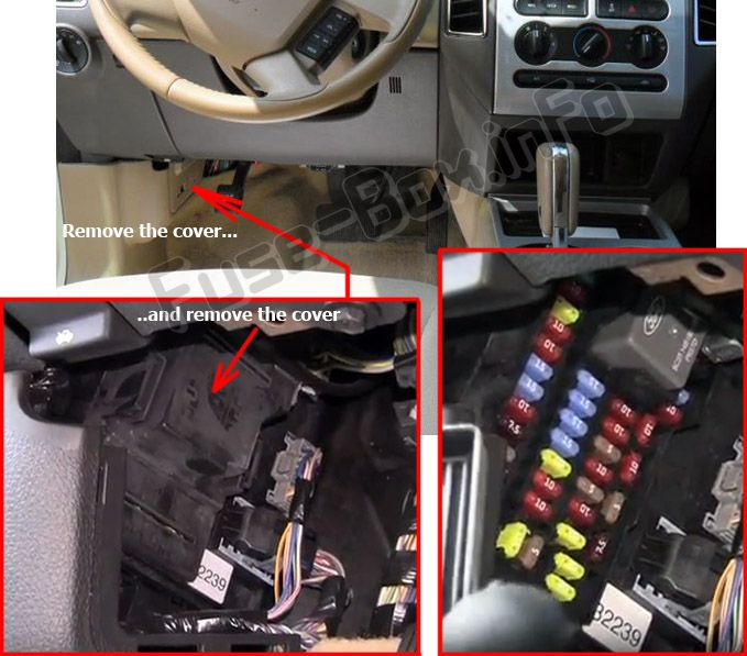 Ford Edge (2007-2010) \u003c Fuse Box diagram