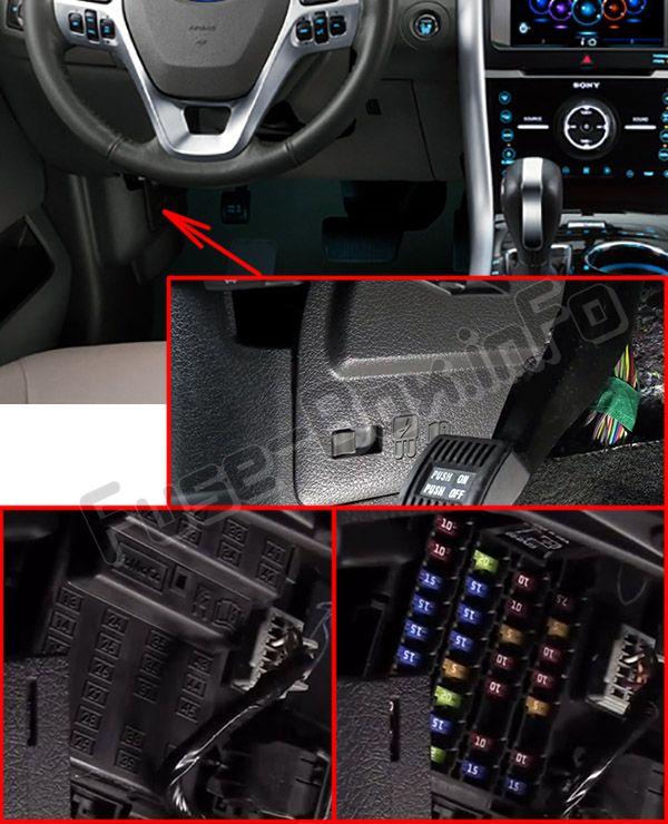 Ford Edge (2011-2014) \u003c Fuse Box diagram