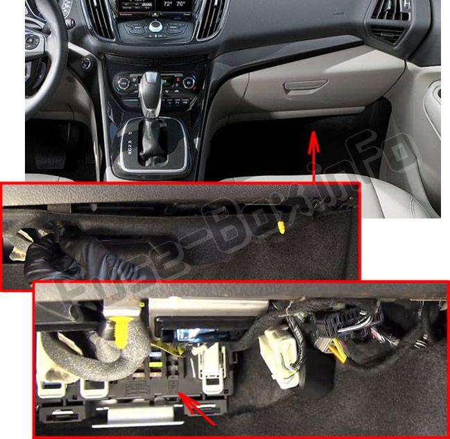 Ford Escape (2013-2019) \u003c Fuse Box diagram