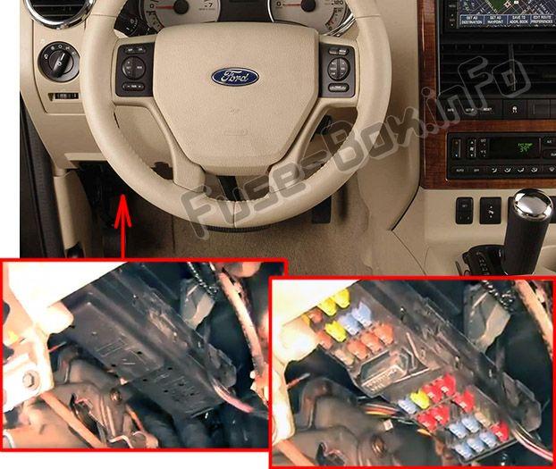 Ford Explorer (2006-2010) \u003c Fuse Box diagram