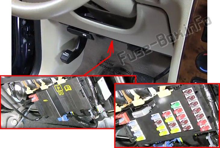 Ford Freestyle (2005-2007) \u003c Fuse Box diagram