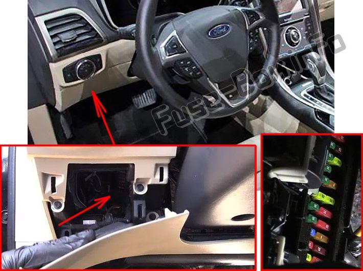 Ford Fusion (2013-2016) \u003c Fuse Box diagram