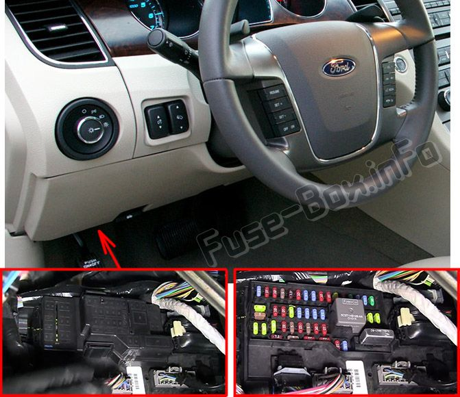 Ford Taurus (2010-2012) \u003c Fuse Box diagram