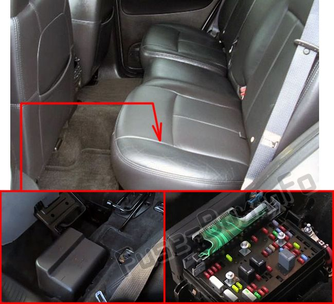 GMC Envoy (2002-2009) \u003c Fuse Box diagram