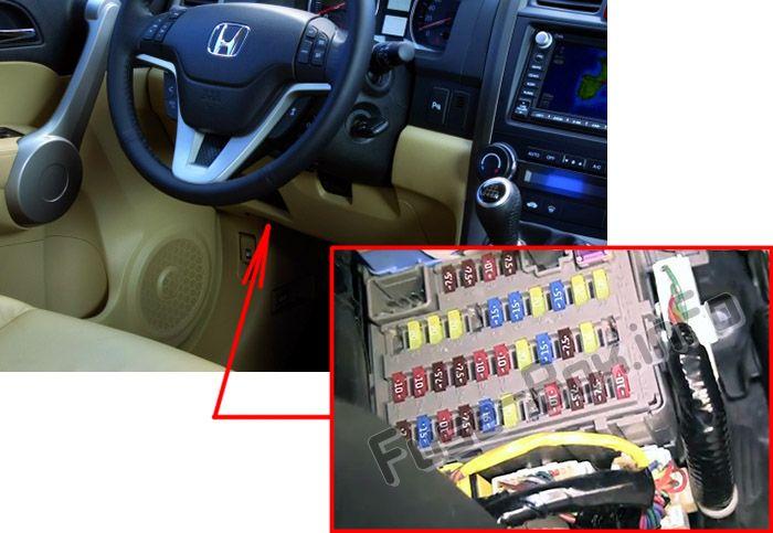 Honda CR-V (2007-2011) \u003c Fuse Box diagram