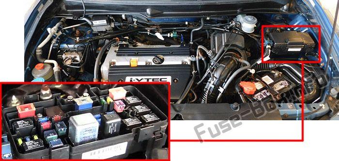 Honda Element (2003-2011) \u003c Fuse Box diagram
