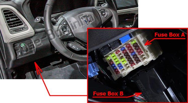 Honda HR-V (2016-2019) \u003c Fuse Box diagram