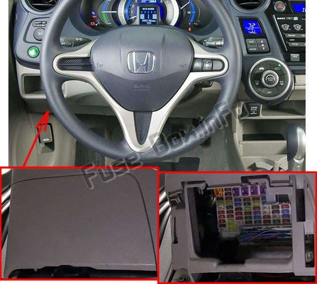 Honda Insight (2010-2014) \u003c Fuse Box diagram