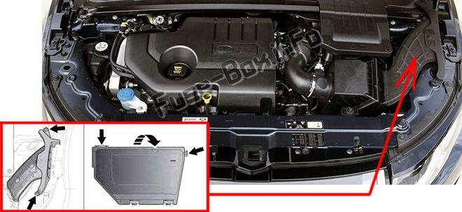 Land Rover Range Rover Evoque (2012-2018) \u003c Fuse Box diagram