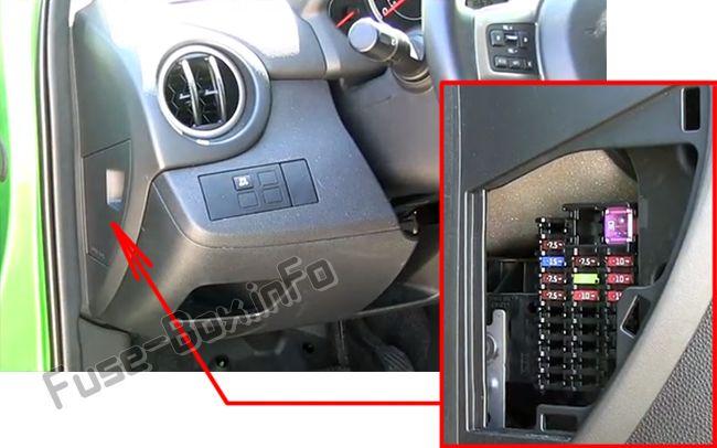Mazda 2 (DE; 2007-2014) \u003c Fuse Box diagram