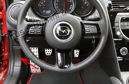 Mazda RX-8 (2003-2012) \u003c Fuse Box diagram