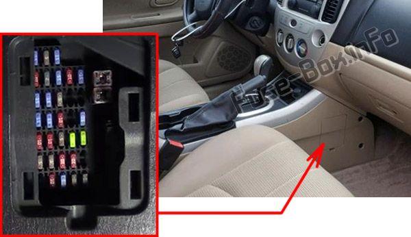 Mazda Tribute (2001-2007) \u003c Fuse Box diagram