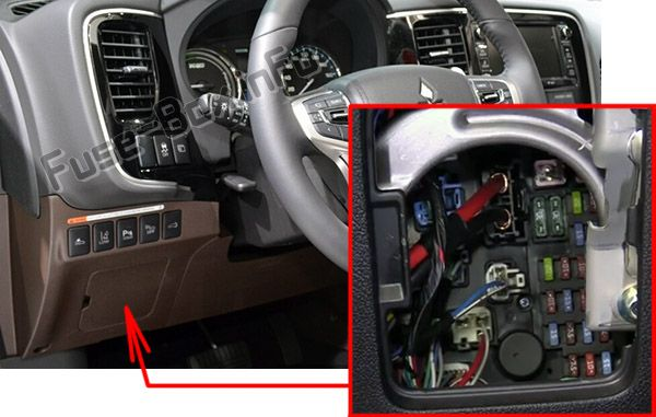 Mitsubishi Outlander (2014-2019) \u003c Fuse Box diagram