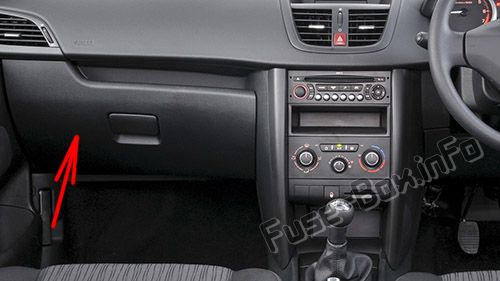 Peugeot 206 Fuse Box Cover Wiring Diagram