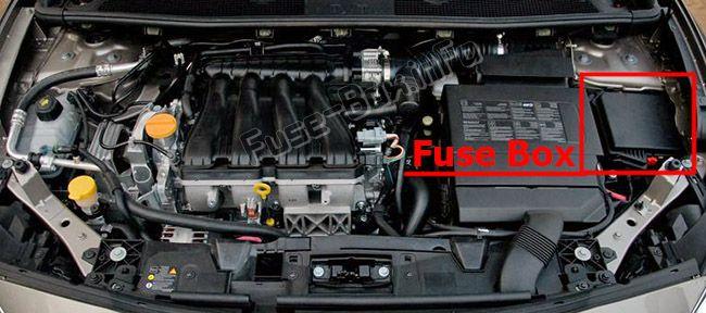 Renault Fluence (2010-2018) \u003c Fuse Box diagram