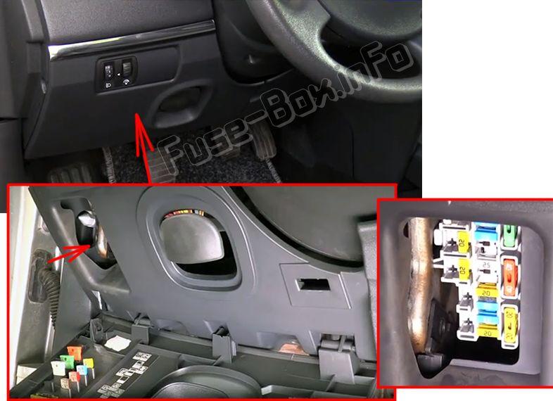 Renault Megane Fuse Box Cover Wiring Diagram