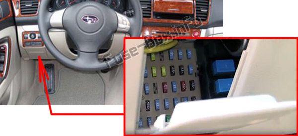 Subaru Outback (2005-2009) \u003c Fuse Box diagram