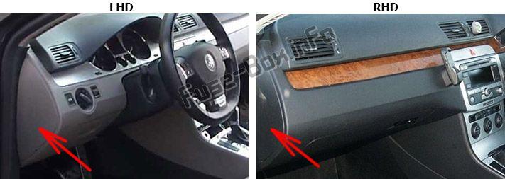 Volkswagen Passat B6 (2005-2010) \u003c Fuse Box diagram