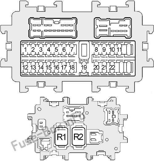 2005 nissan 350z fuse diagram