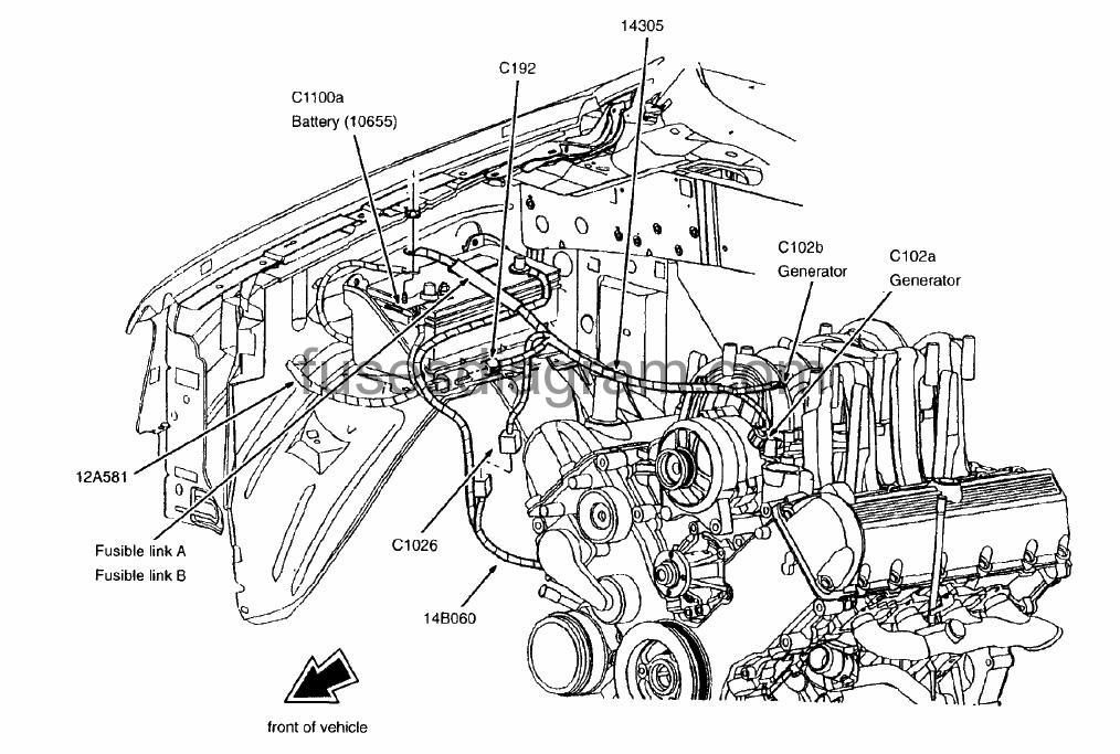 1999 ford expedition fuse diagram blower motor