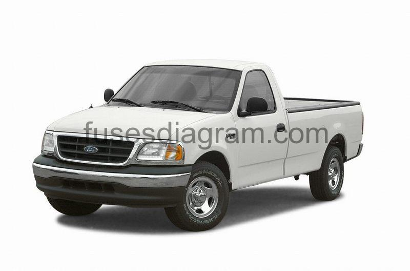 Fuses and relays box diagram Ford Taurus 2000-2007