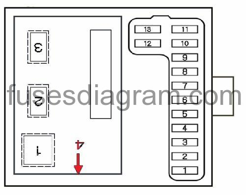 2001 Honda Accord Fuse Box Diagram 2001 Honda Accord Fuse Box