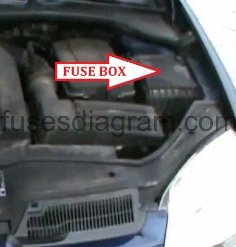 2004 volkswagen fuse box