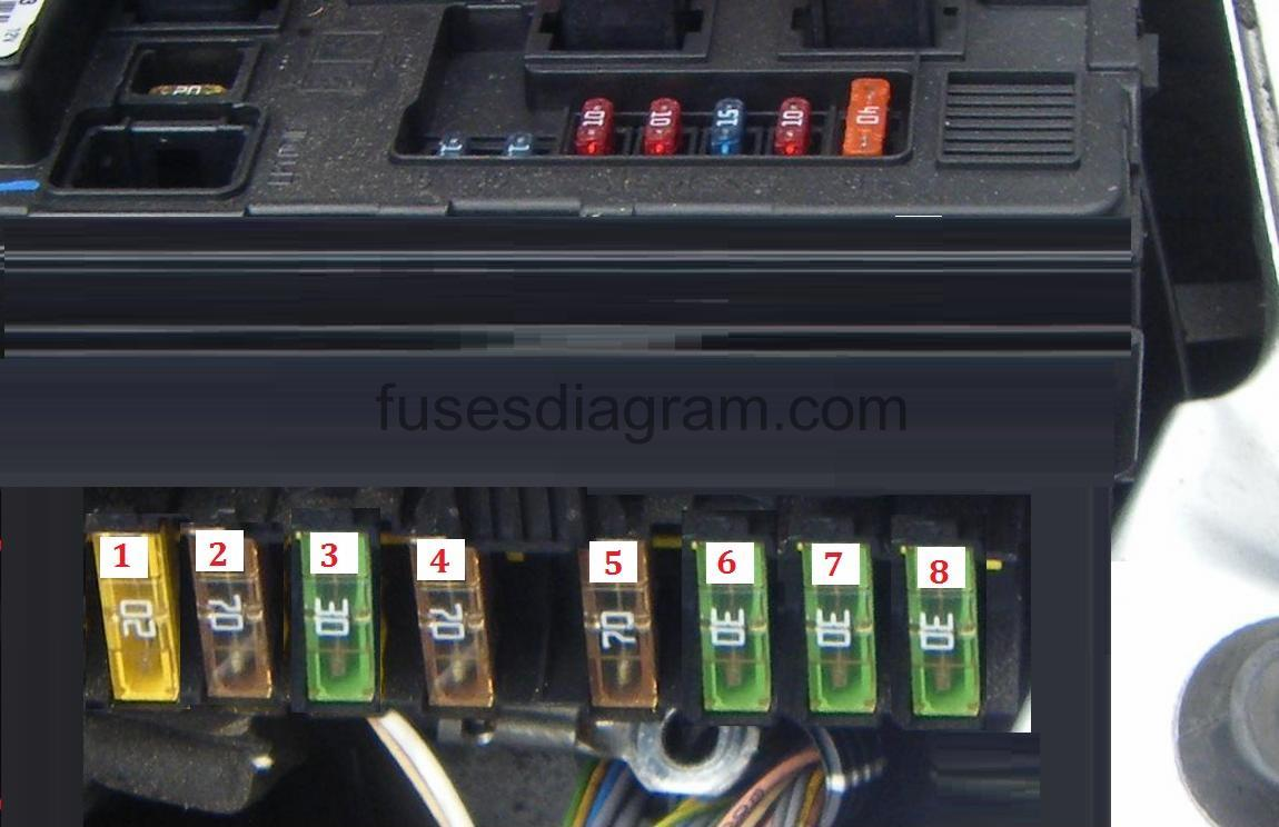 Fuse Box Locate Auto Electrical Wiring Diagram Ford Transit Mark 7 Peugeot 206