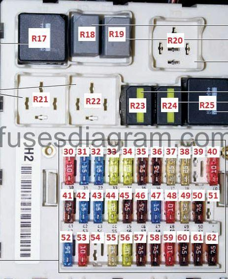 Ford Focus 55 Fuse Box Wiring Diagram