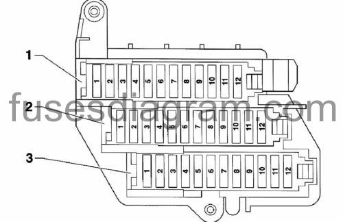 2006 audi a6 fuse box diagram