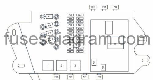 audi a6 c6 fuse box diagram