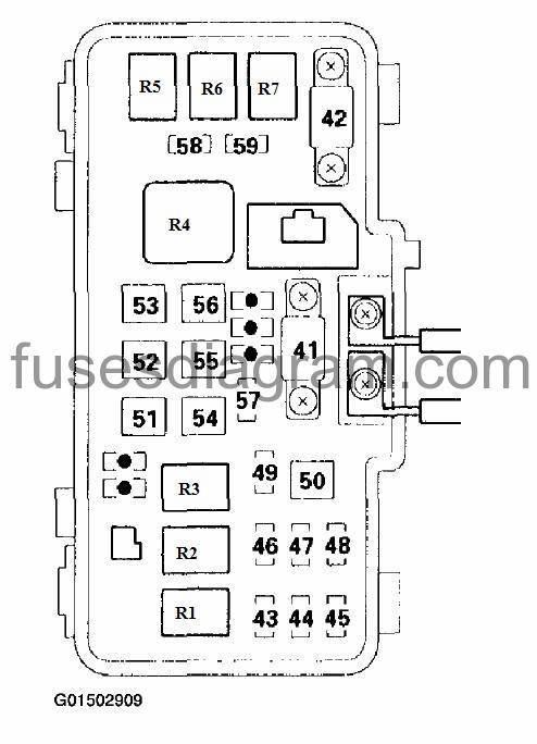 2004 honda fuse box diagram