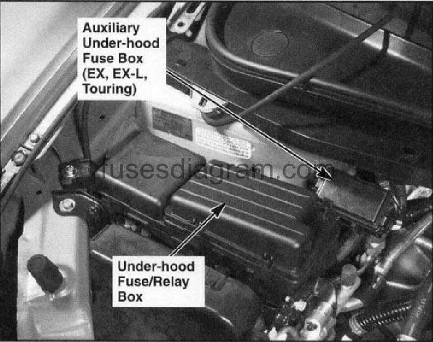 Honda Odyssey 2005 Fuse Box - Wwwcaseistore \u2022
