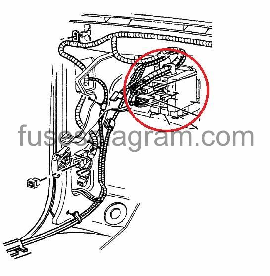 99 f350 under dash fuse diagram