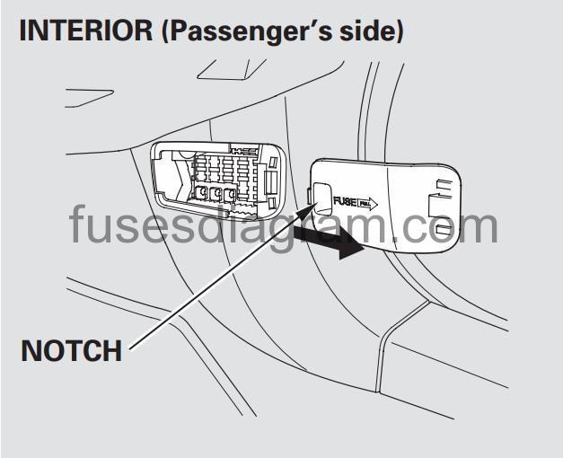 2008 honda accord sedan fuse box diagram