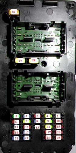 jeep grand cherokee fuse box diagram 2005