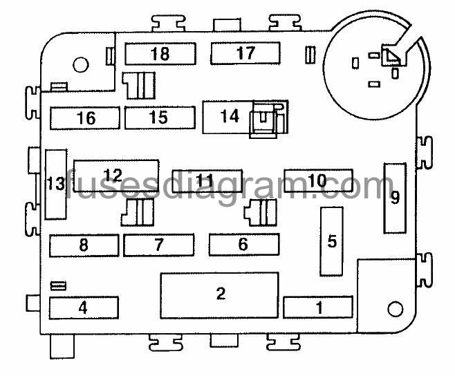 DOC ➤ Diagram 1997 Ford E 250 Diagram For Fuse Panel Heater Blower