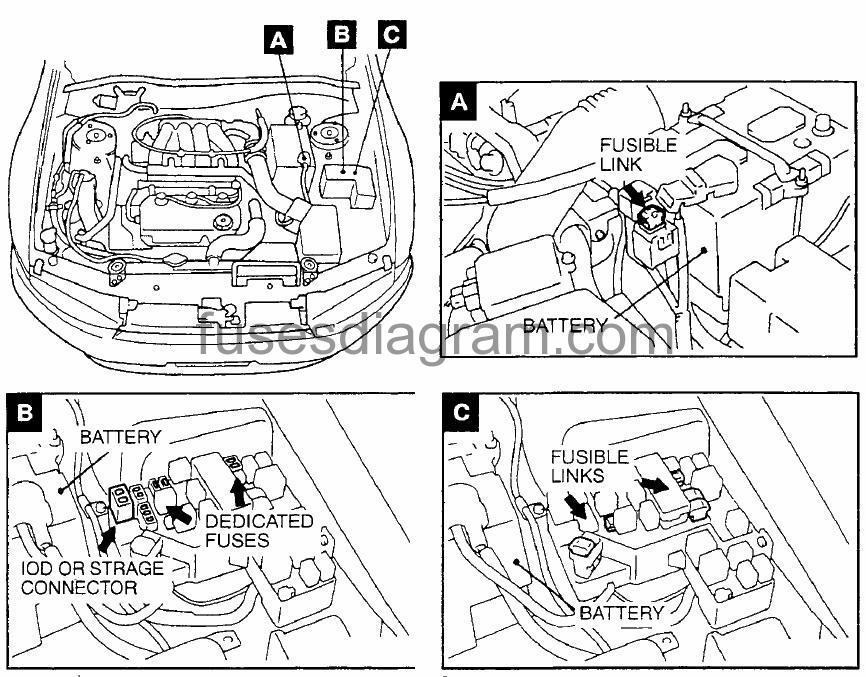 2009 Bmw X3 Fuse Box Wiring Diagram