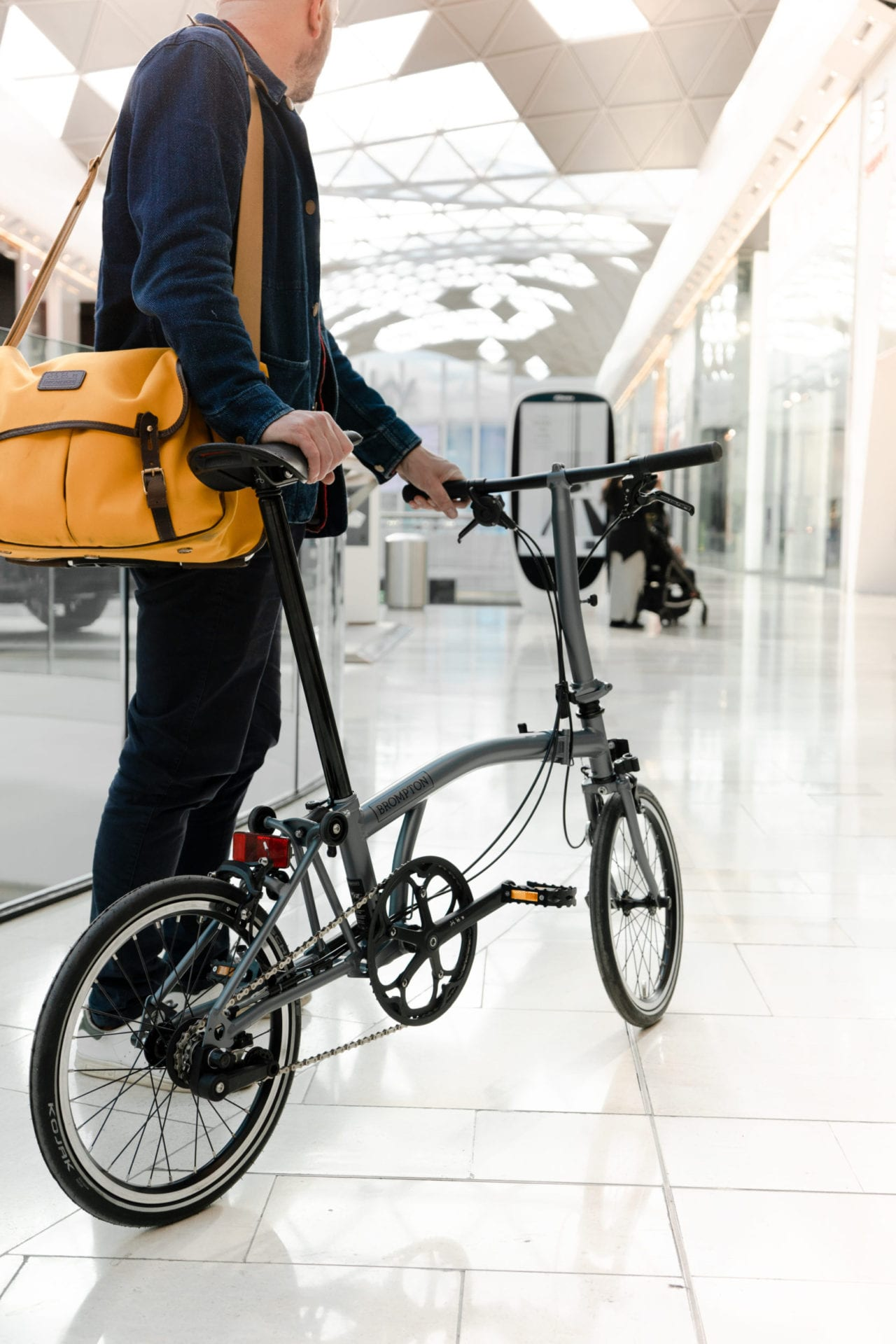 Brompton Bikes Brompton Bicycle To Open New Flagship Store In Westfield London