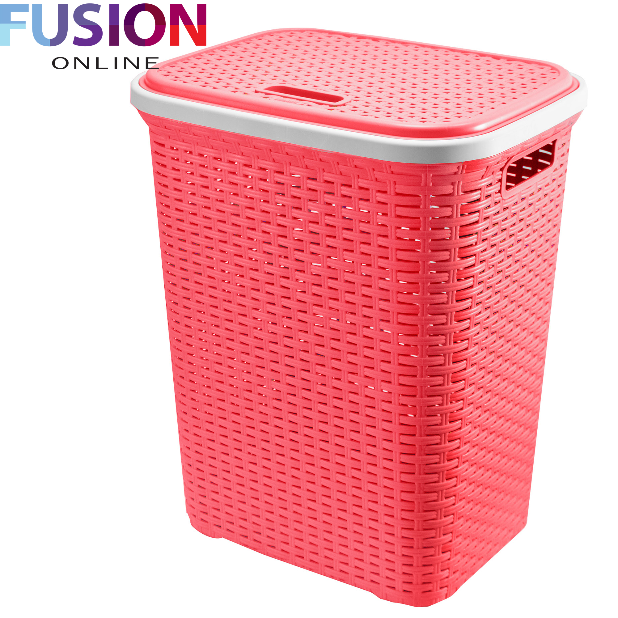 Clothes Baskets Large Laundry Basket Washing Clothes Storage Hamper Rattan