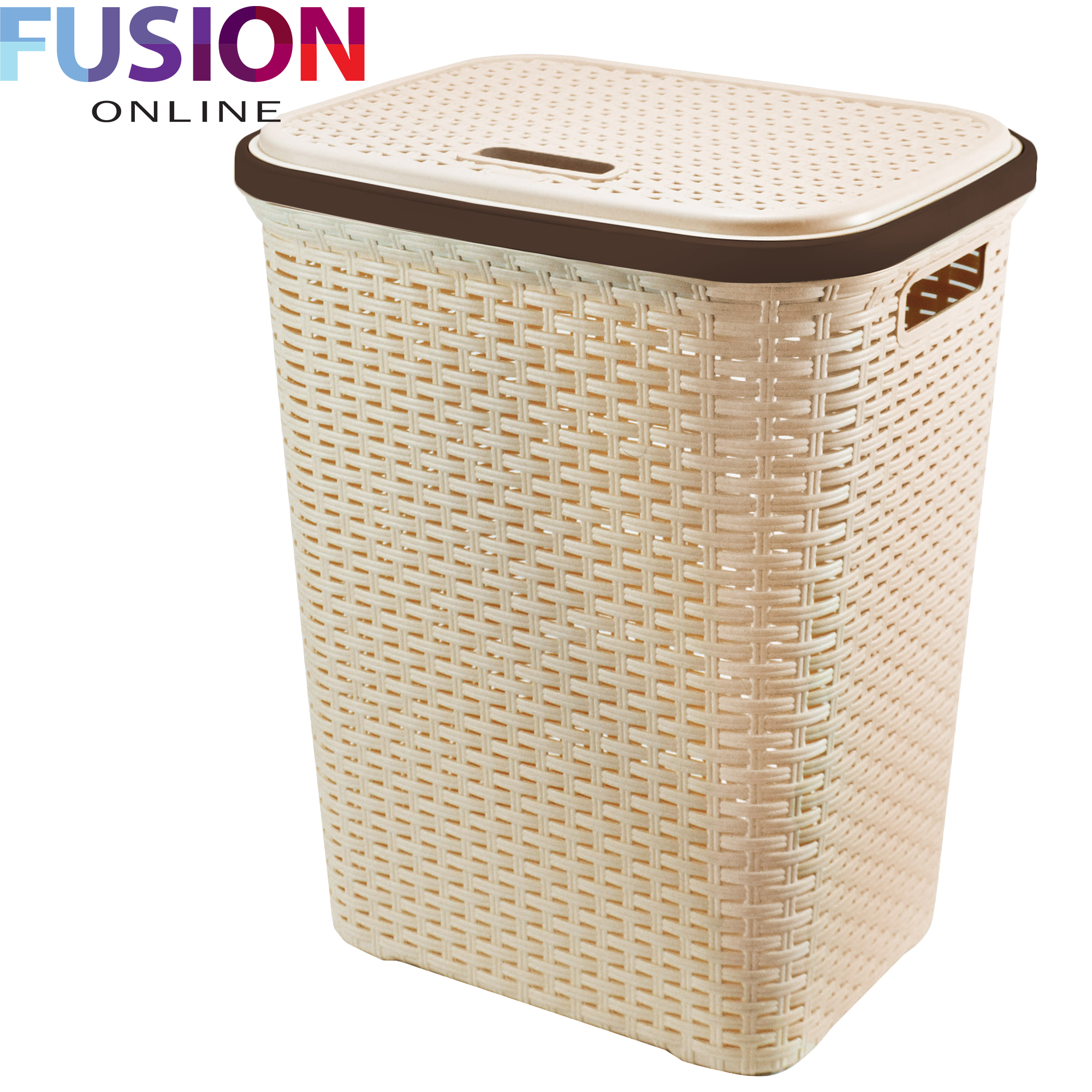 Wicker Laundry Baskets Large Laundry Basket Washing Clothes Storage Hamper Rattan