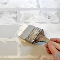How to Create a Faux Brick Wall  Fusion Mineral Paint