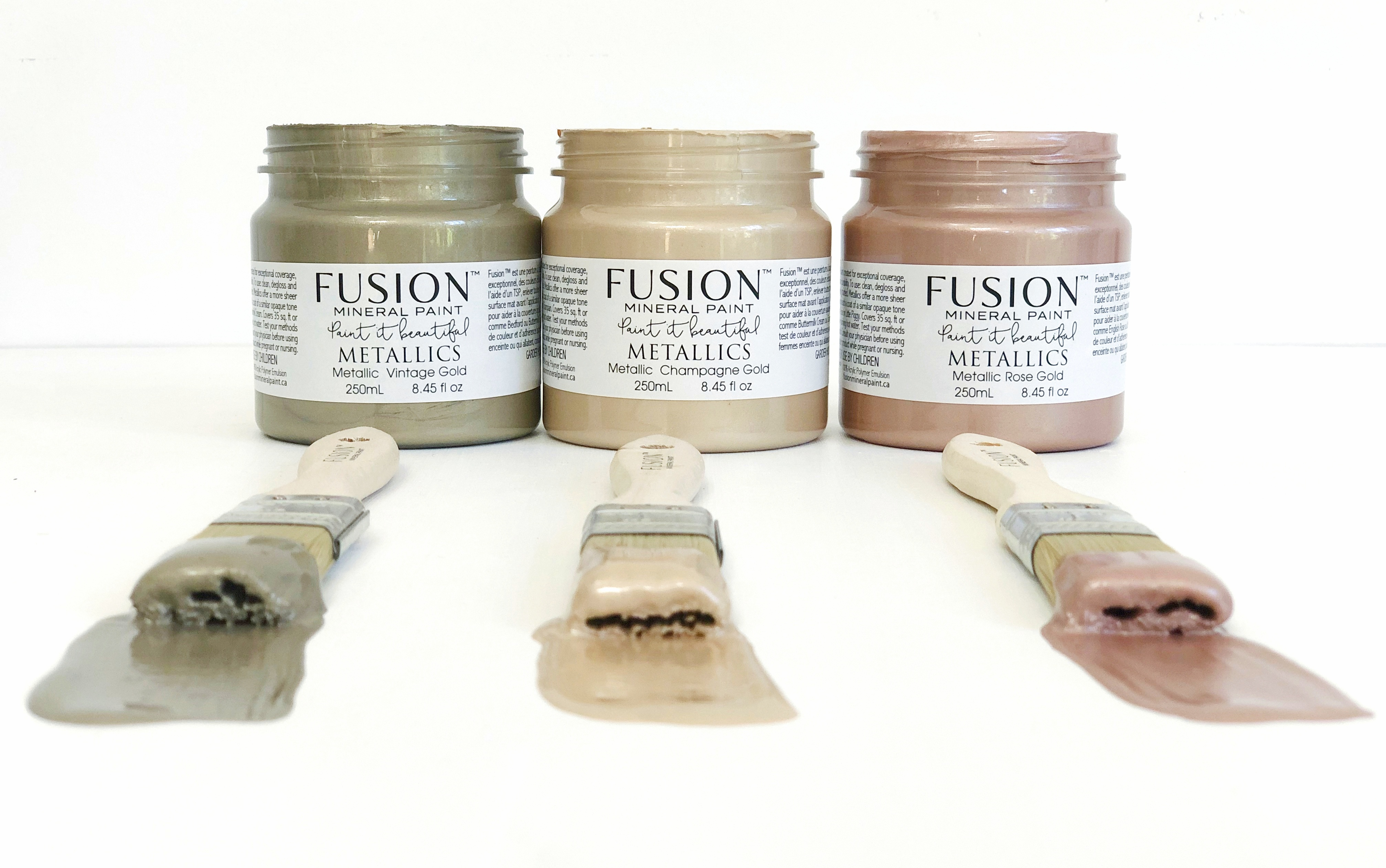 Fusion Mineral Paint S Limited Edition Metallics Fusion Mineral Paint