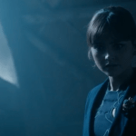 Clara in The Barn That's Not On Gallifrey
