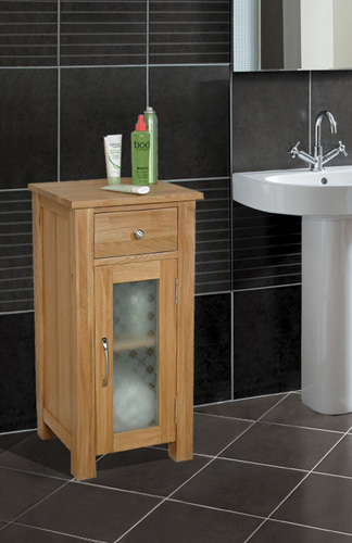 Kitchen Cabinets Direct From Manufacturer Fusion Solid Oak Bathroom Storage Cabinet Cupboard Free