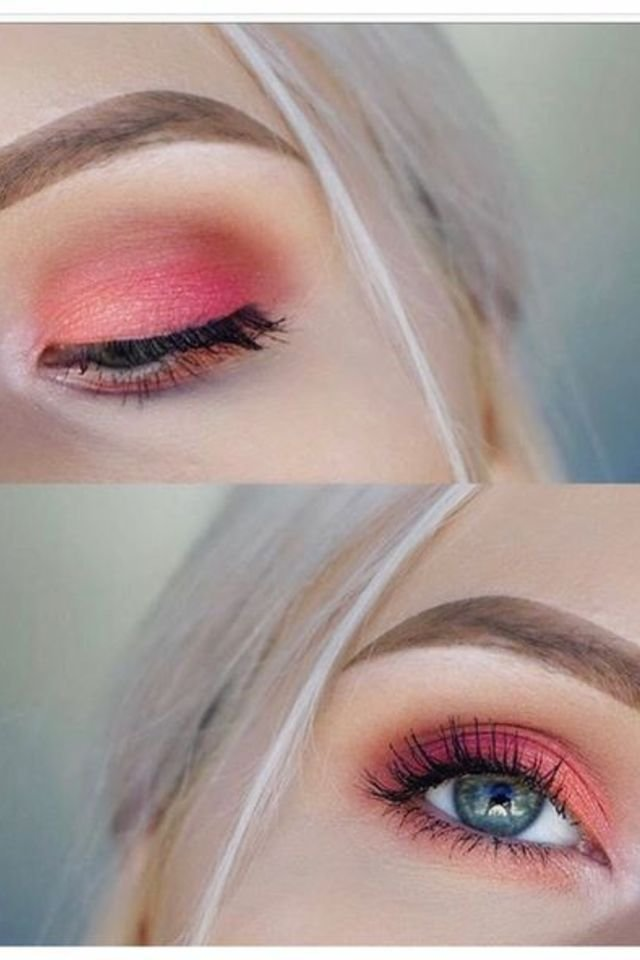 Pink Brown Eyeshadow 12 Photos Of Peach Eyeshadow Looks For A Fresh Spring Style