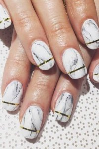 Marble Nail Art Tutorial